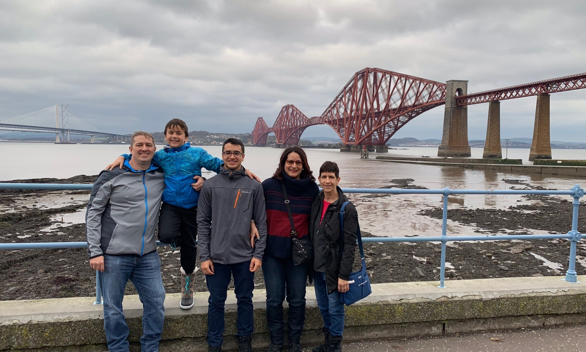 The Forth Bridge completed in 1890