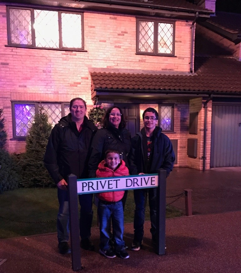 Harry Potter's Privet Drive at the Warner Bros. Studio Tour in London