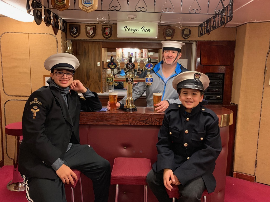 Verge Inn, HMS Brittania